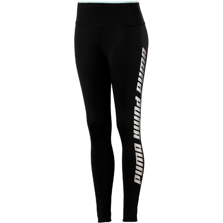 Puma modern sports foldup legging Negro / turquesa Leggings Deportivos