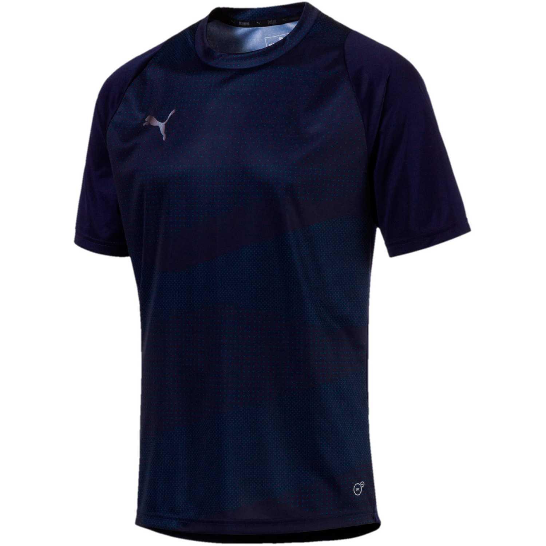 Polo de Hombre Puma Azul ftblnxt graphic shirt core