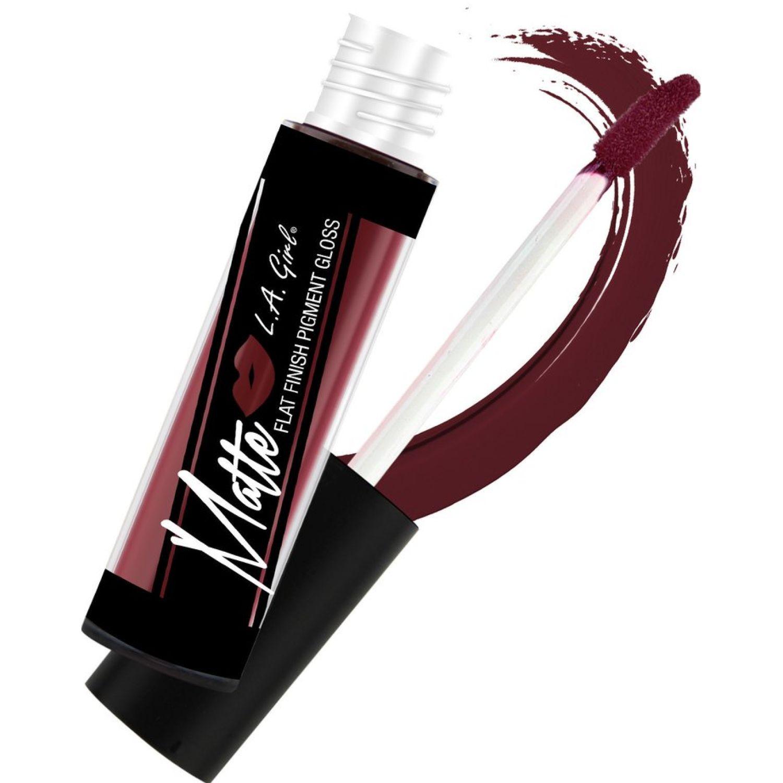 L.a. Girl Matte Pigment Lipgloss Backstage Brillos labiales