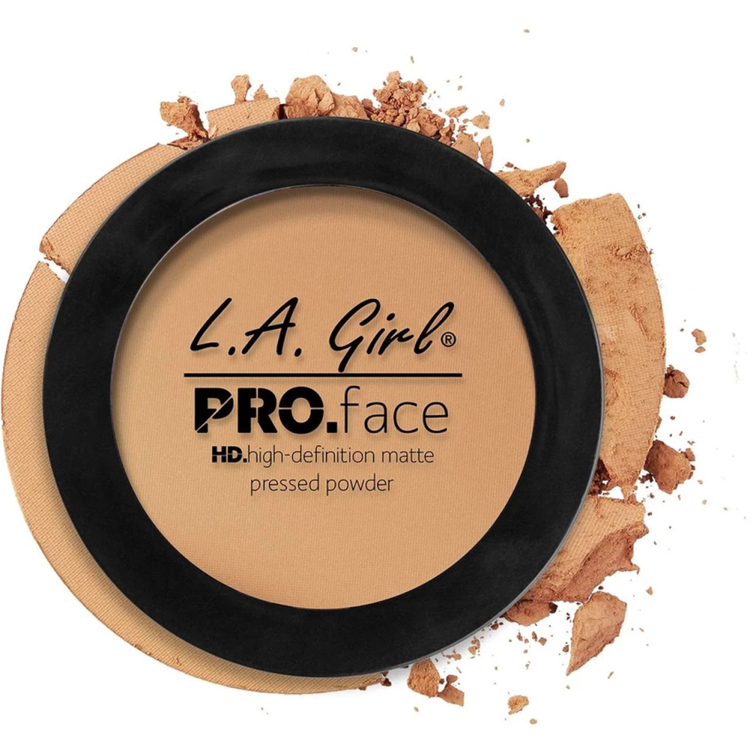 L.a. Girl Pro Face Matte Pressed Powder Medium Beige Correctores