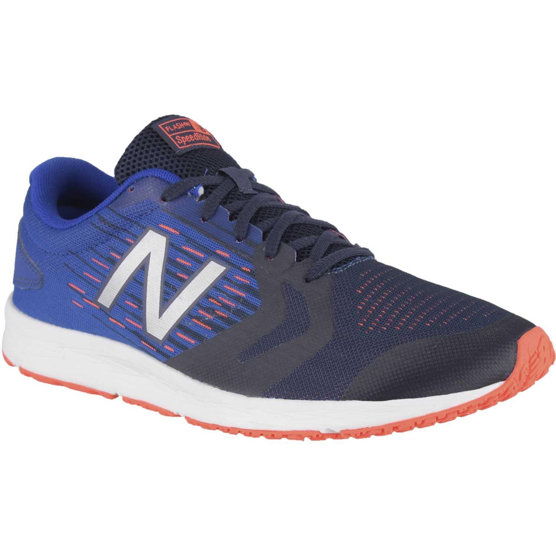 Zapatilla de Hombre New Balance Azulino / blanco flash