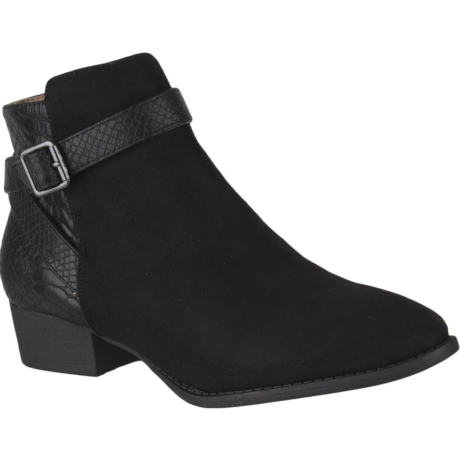 Hush Puppies ELVIS Negro Botines
