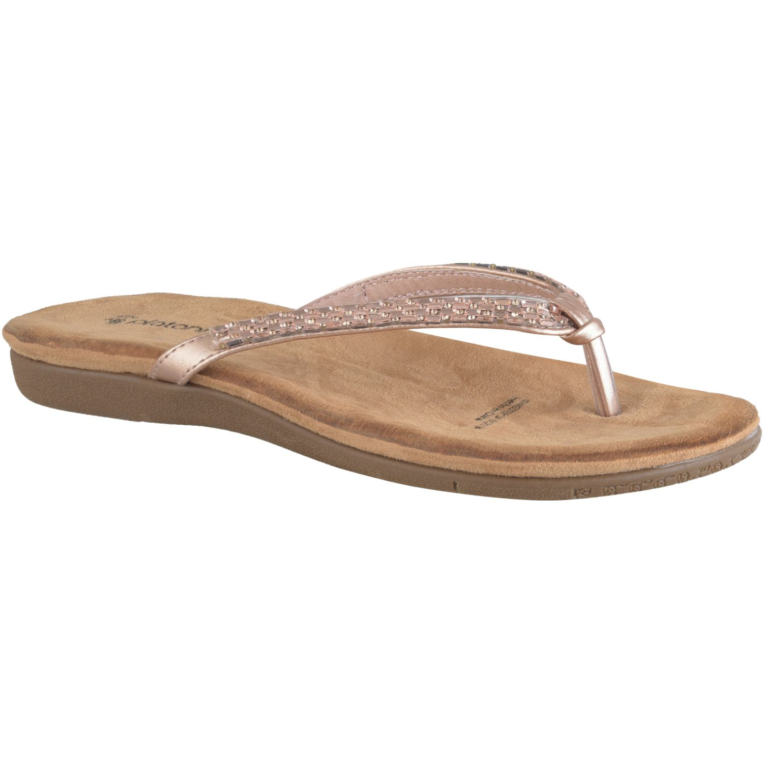 Platanitos Sf 6123 Rose gold Flats