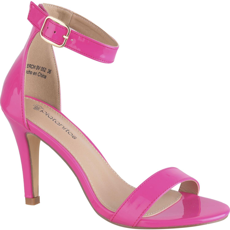 Sandalias de Mujer Platanitos Fucsia sv 052