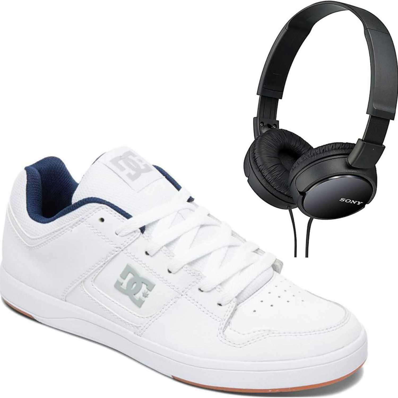 newest e554d a5a11 Ballerinas de Mujer DC Blanco dc shoes cure+promo audifonos ...