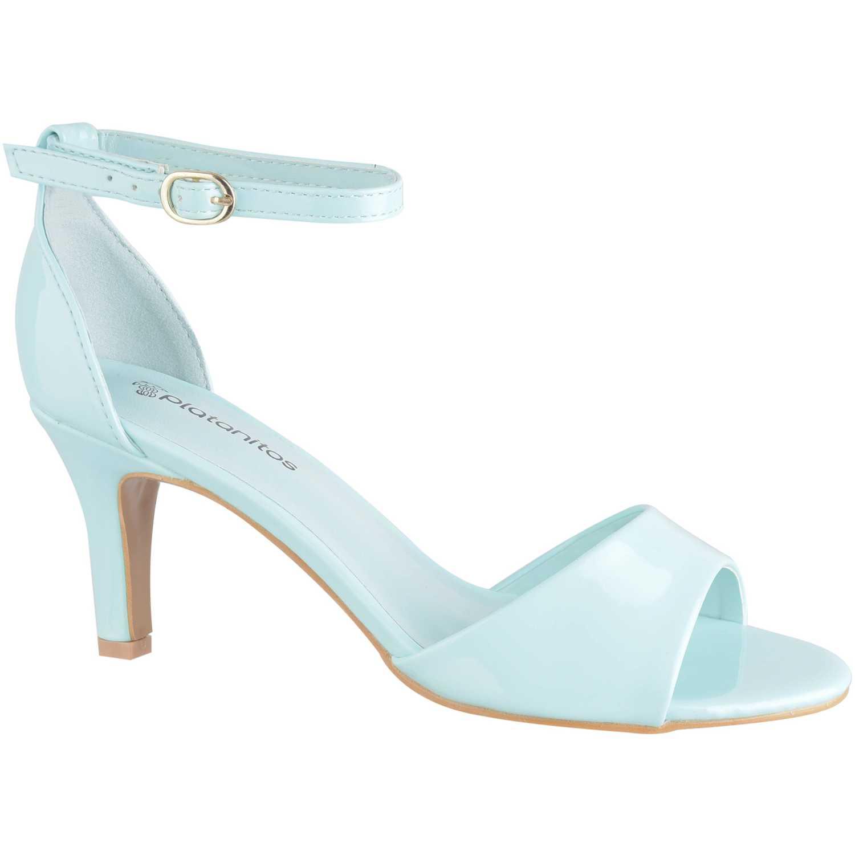 Sandalias de Mujer Platanitos Menta sv 8101