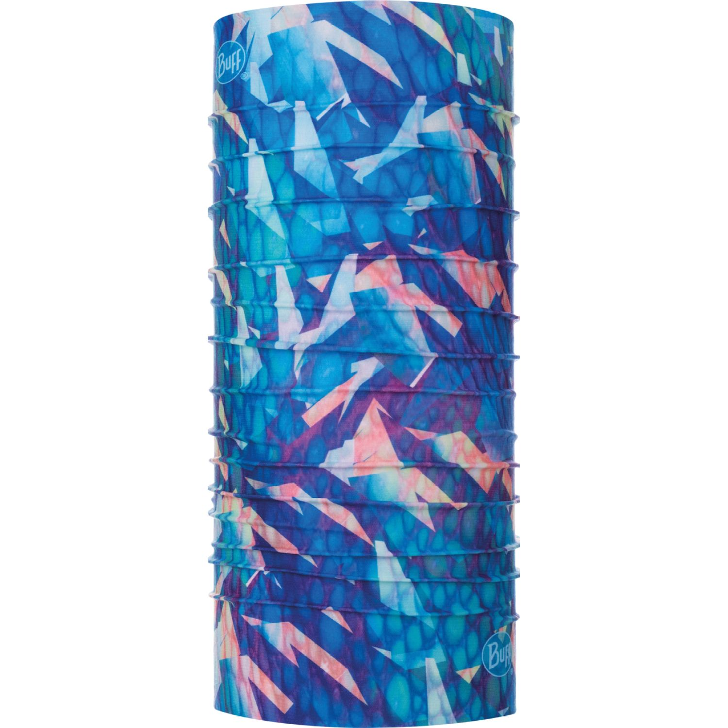BUFF coolnet uv+ refraction Celeste Gaiters de Cuello o Calienta Cuellos