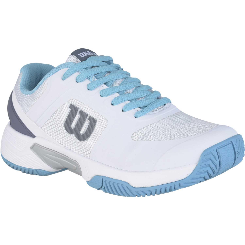 Wilson set tennis 2.0 ftw w Blanco / celeste Walking