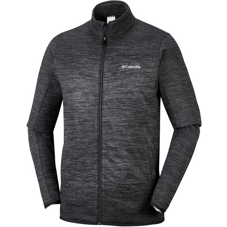 Columbia birch woods ii fz Negro Sweatshirts Deportivos