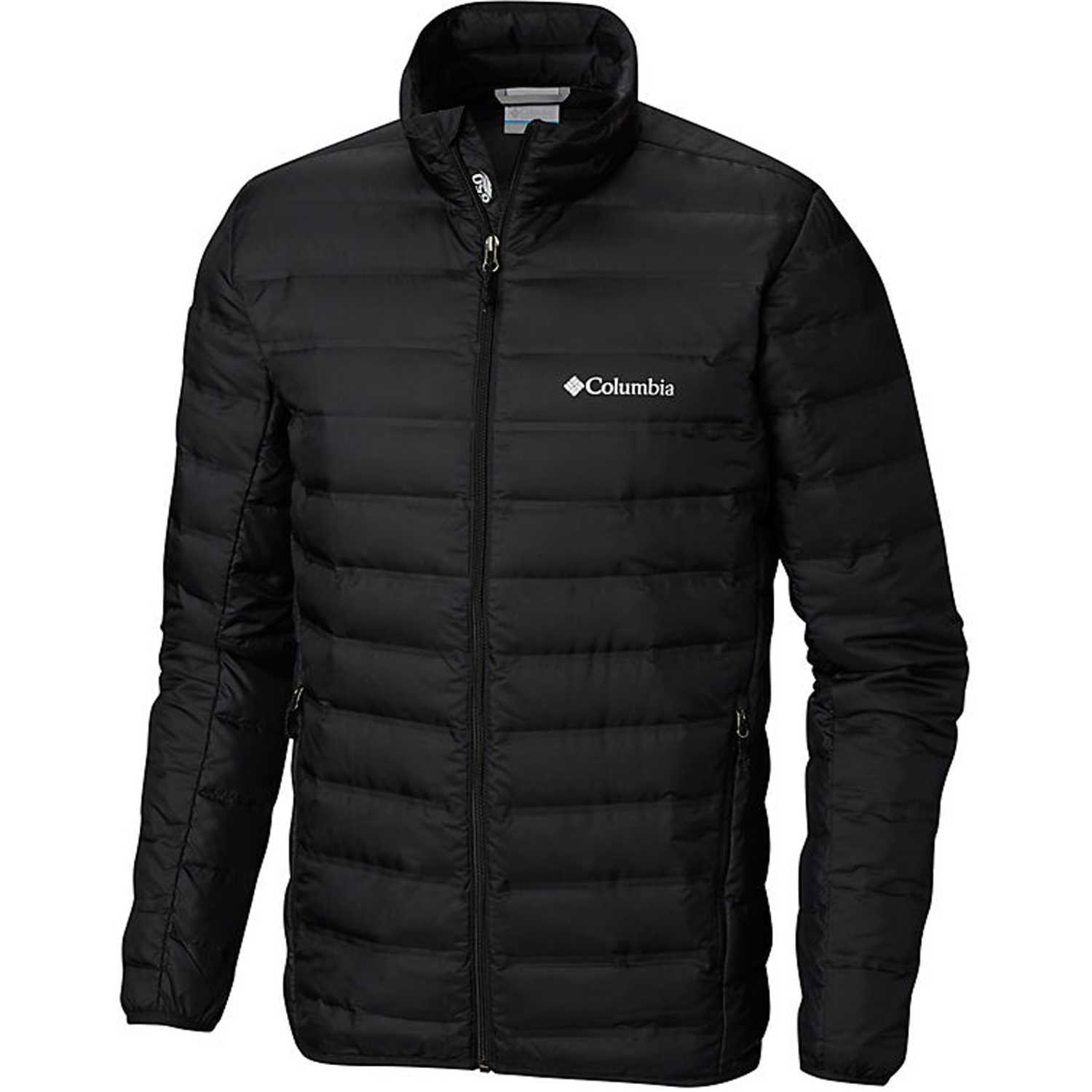 Columbia lake 22 down jacket Negro Trinchera y Lluvia