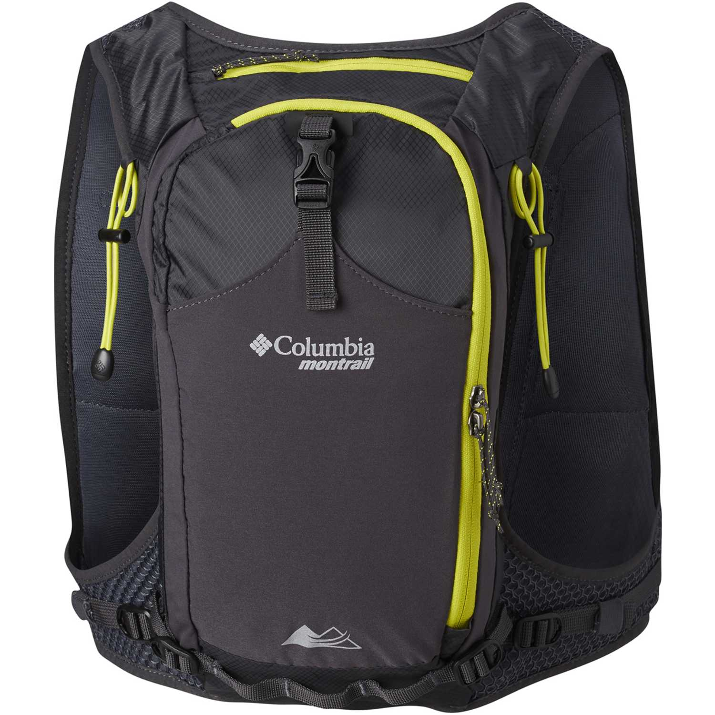 Mochila de Hombre Columbia Negro / amarillo caldorado 7l running