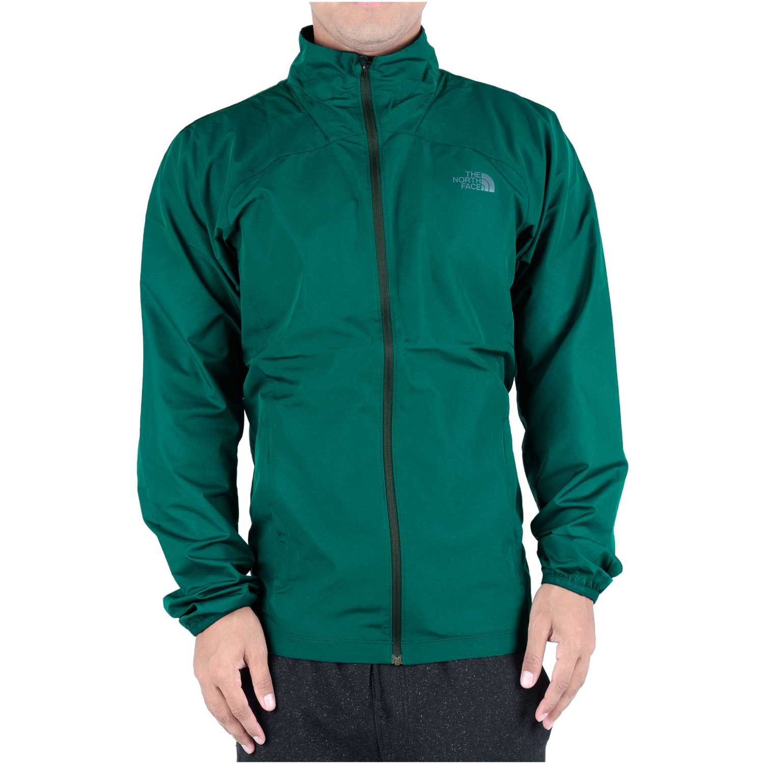 Casaca de Hombre The North Face Verde m ambition jacket