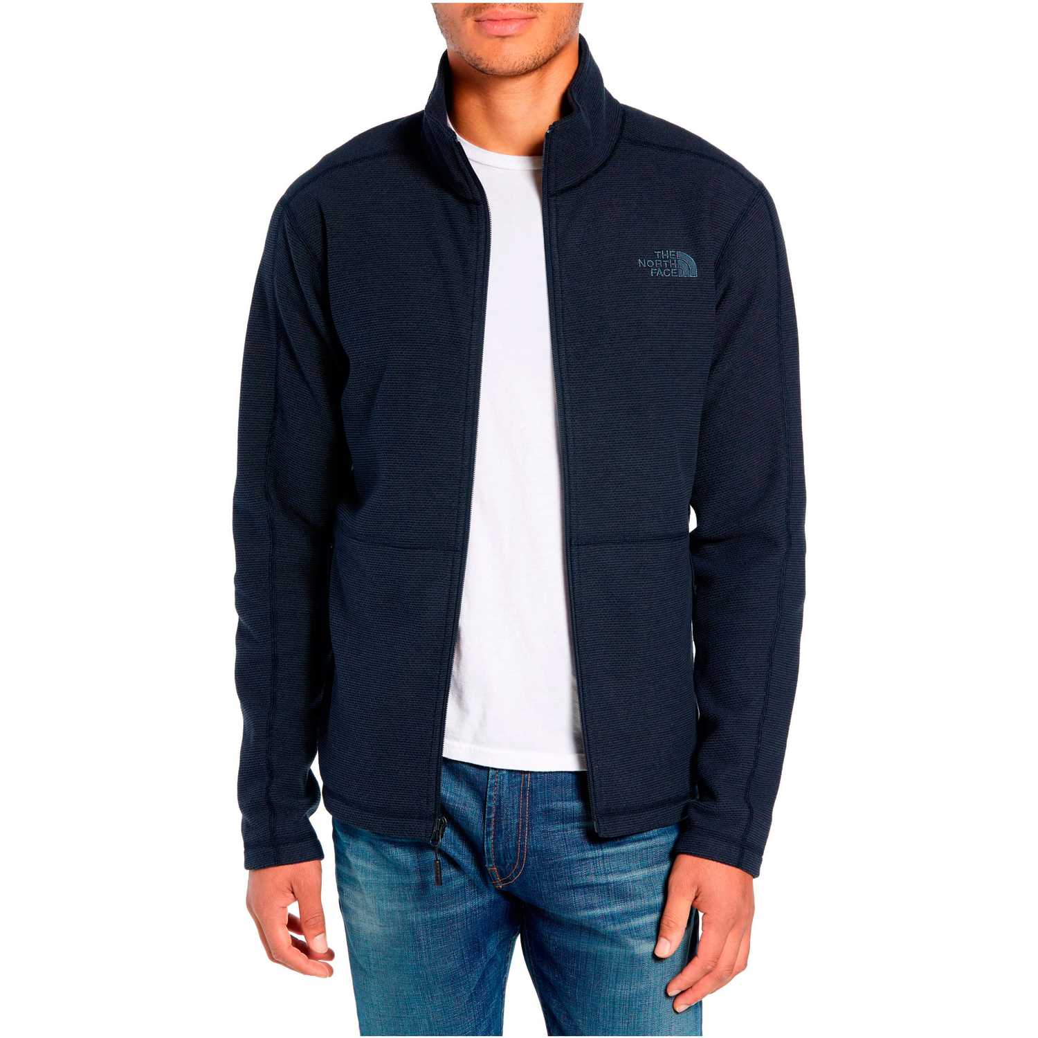 The North Face M TEXTURE CAP ROCK FZ Azul Pullovers