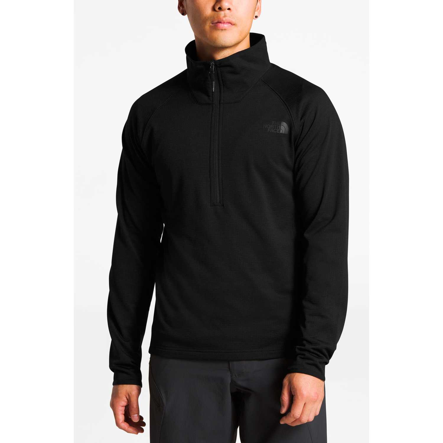 The North Face m borod 1/4 zip Negro Pullovers