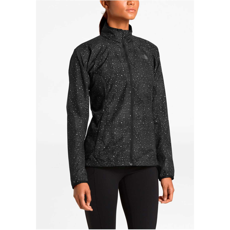 The North Face w ambition jacket Negro Viento y Lluvia