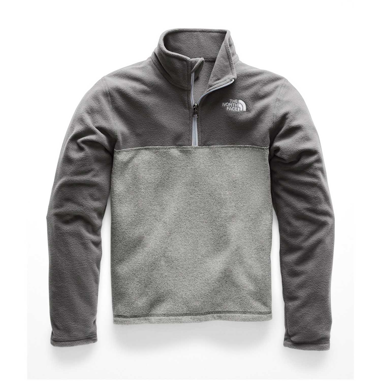 The North Face b glacier 1/4 zip Plomo / gris Hoodies Deportivos