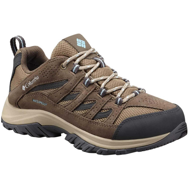 Columbia Crestwood Waterproof Marron Calzado de correr