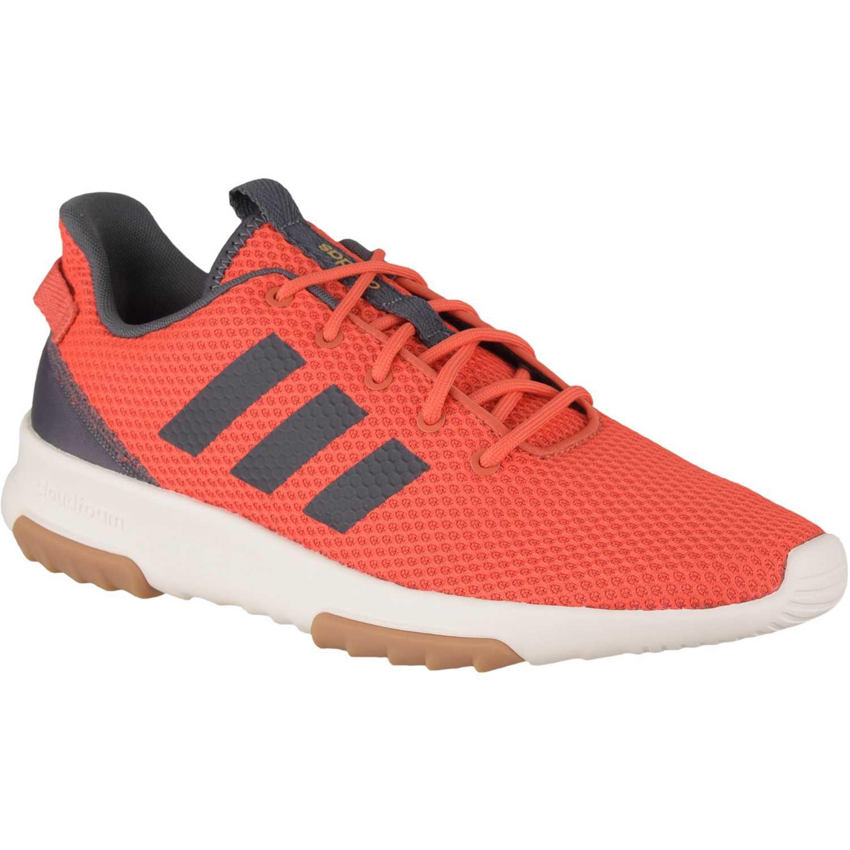 Adidas cf racer tr Rojo Running en pista