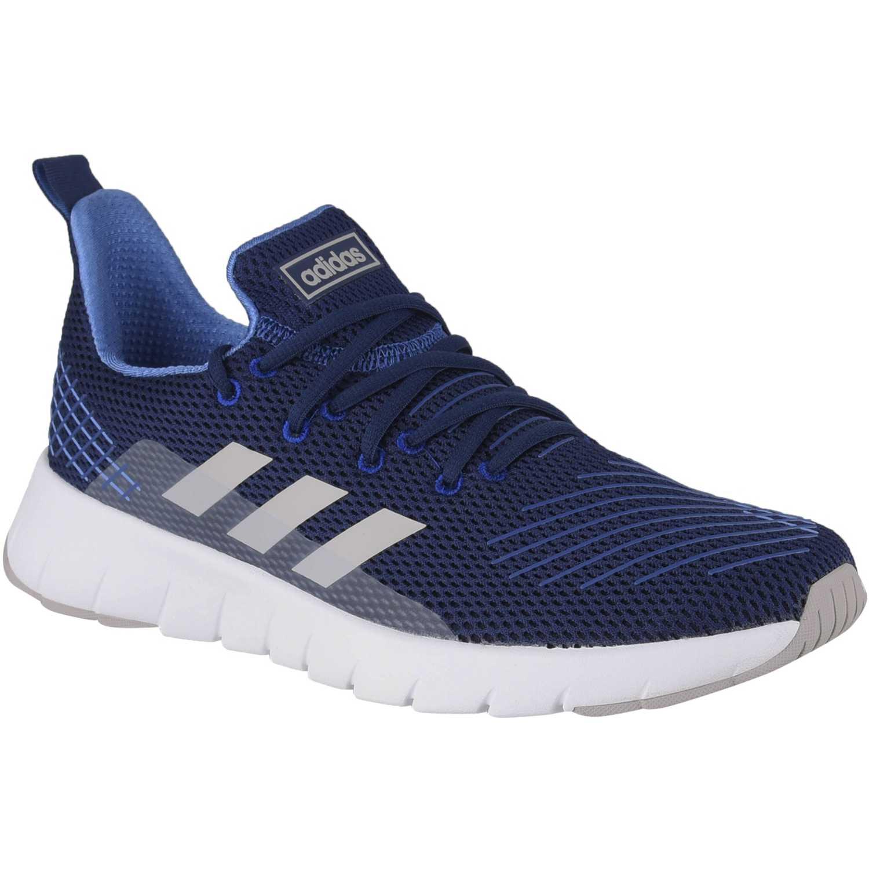 Adidas asweego Navy Running en pista