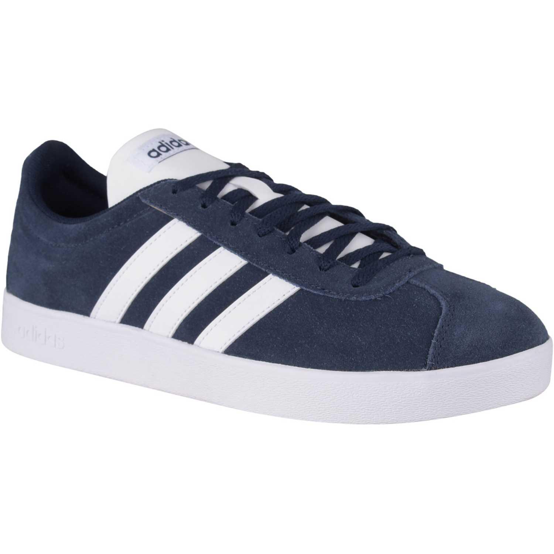 Adidas vl court 2.0 Navy Hombres