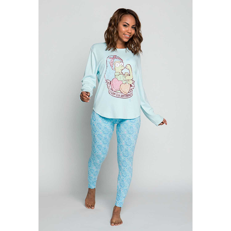 Kayser s6030-cel Celeste Pijamas y Camisetas de Dormir