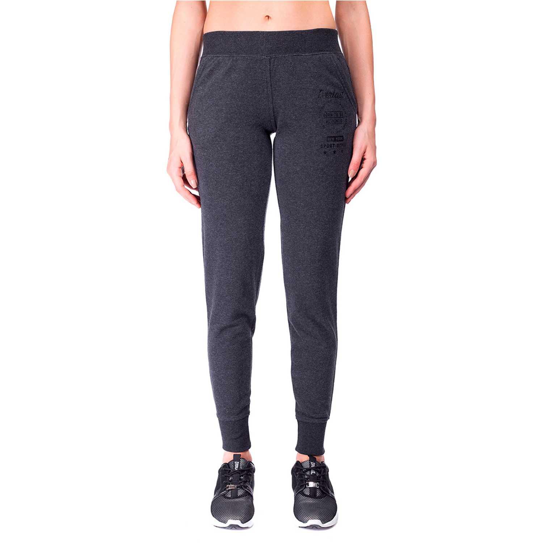 talla 40 e65c5 93f7f Deportivo de Mujer Everlast Gris / negro jogger basic ...