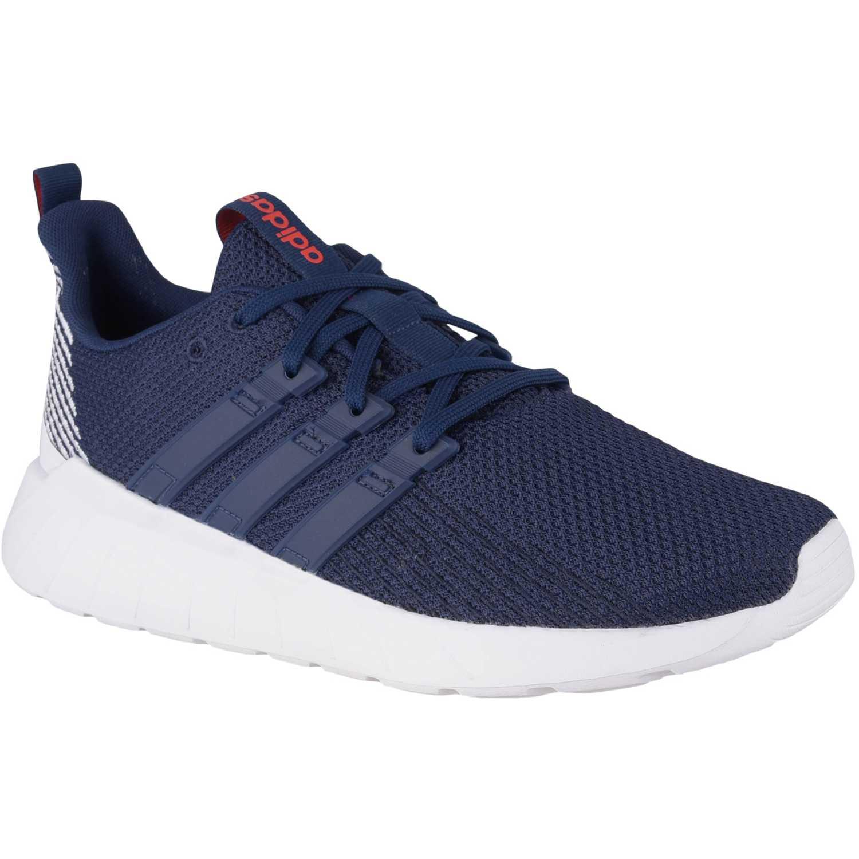 Adidas questar flow Navy Running en pista