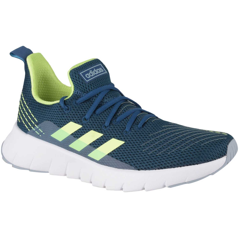 Adidas asweego Azul Running en pista