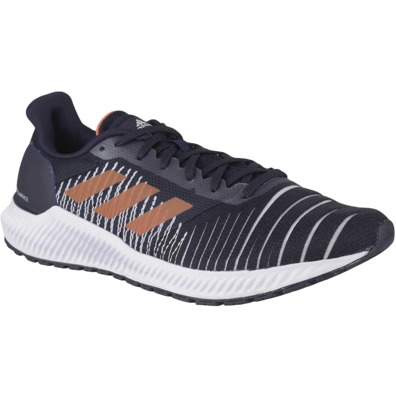 Adidas solar ride m Navy Running en pista