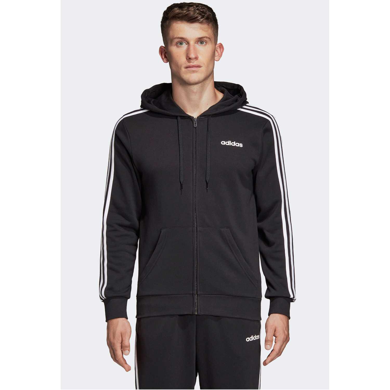 Adidas E 3S FZ FT Plomo Hoodies Deportivos