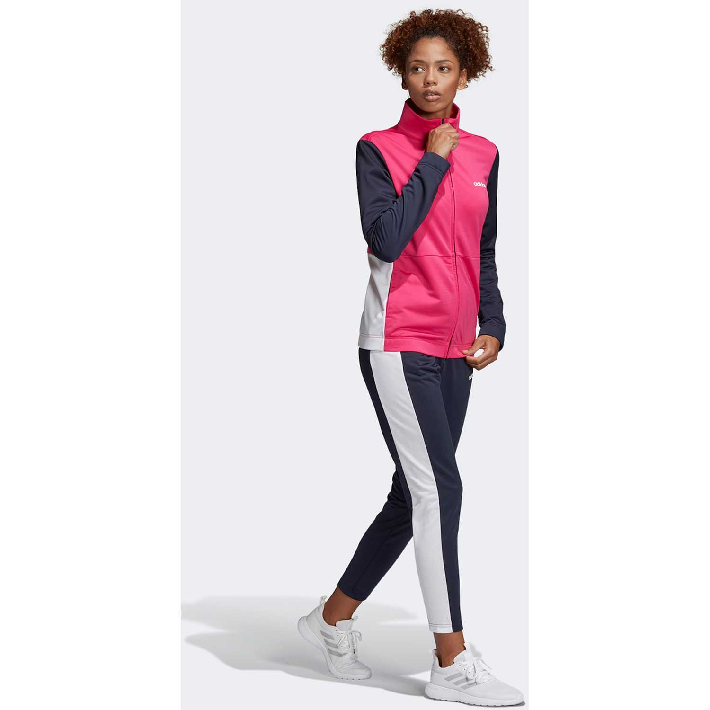 Buzos de Mujer Adidas Rosado / plomo wts plain tric