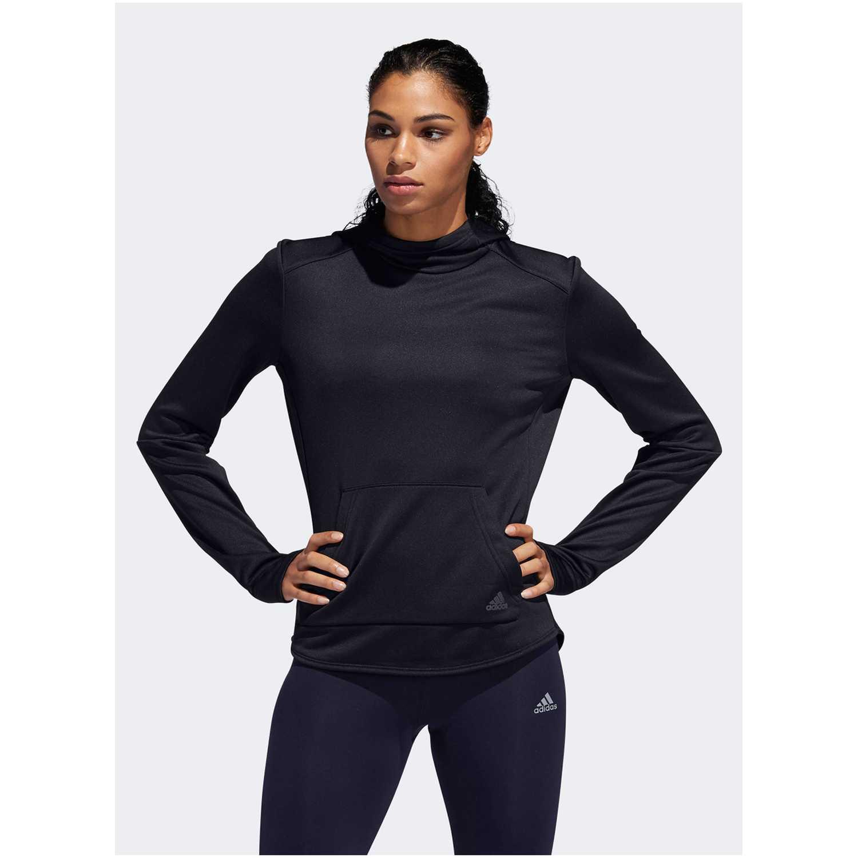 Adidas OTR HOODIE W Negro Hoodies Deportivos