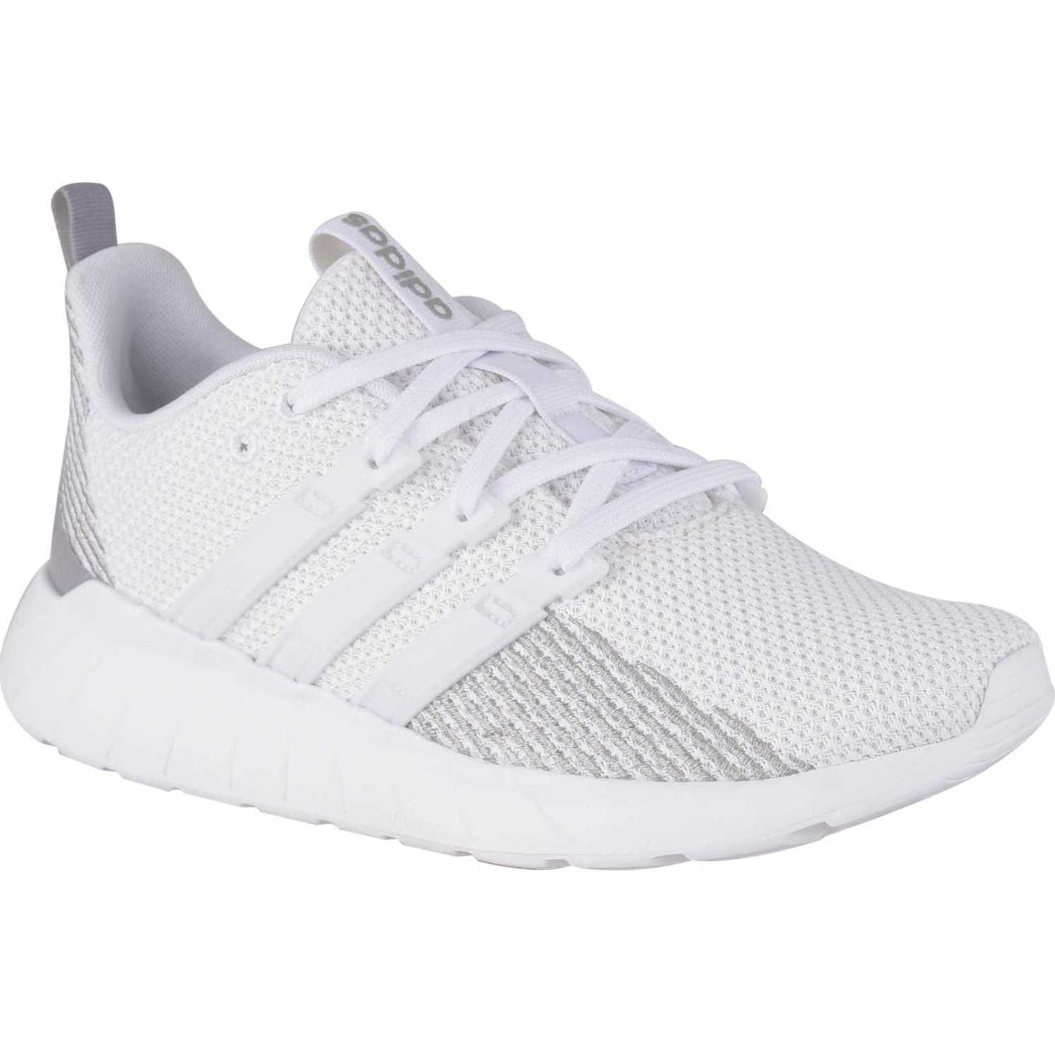Adidas questar flow Blanco Running en pista
