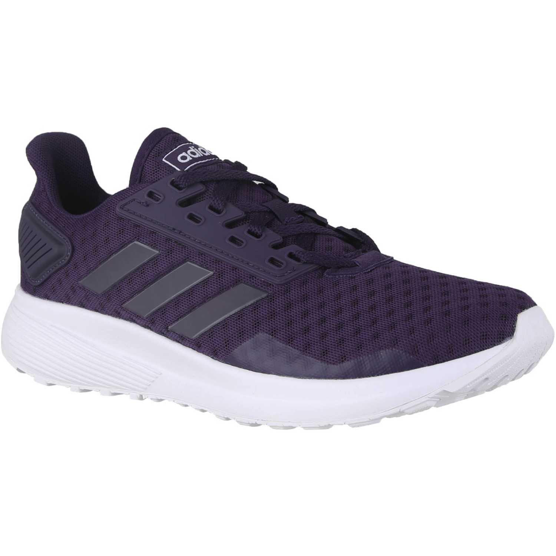 Adidas duramo 9 Morado Running en pista