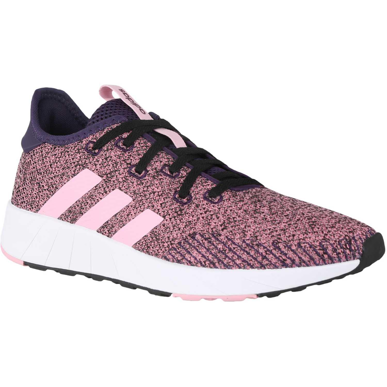 Adidas questar x byd Rosado Running en pista