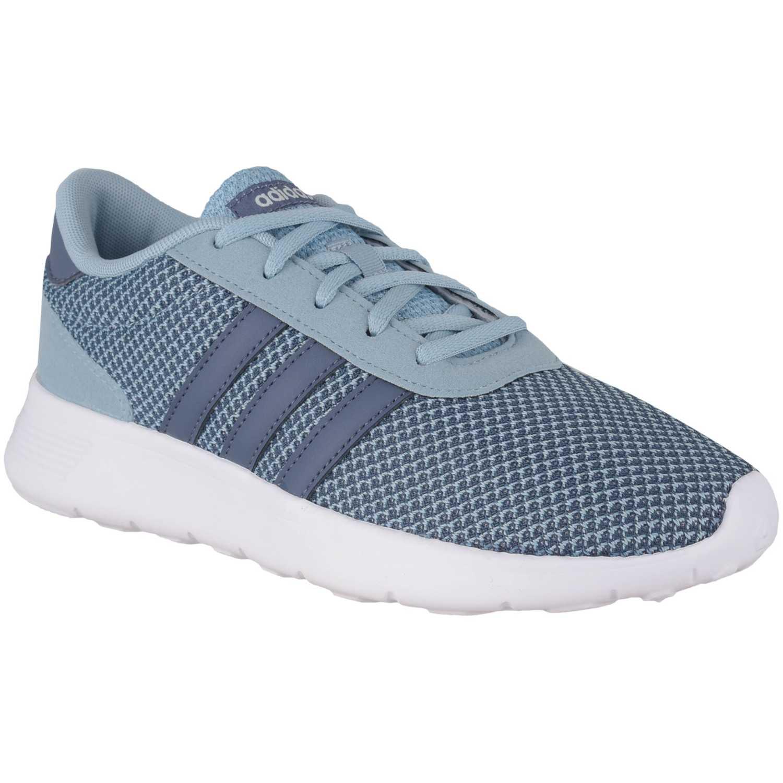 Adidas lite racer Azul Running en pista