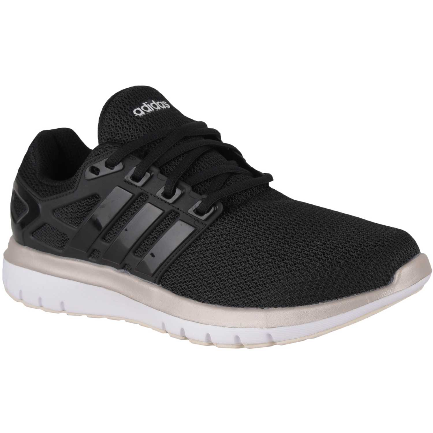 Adidas energy cloud v Negro Running en pista