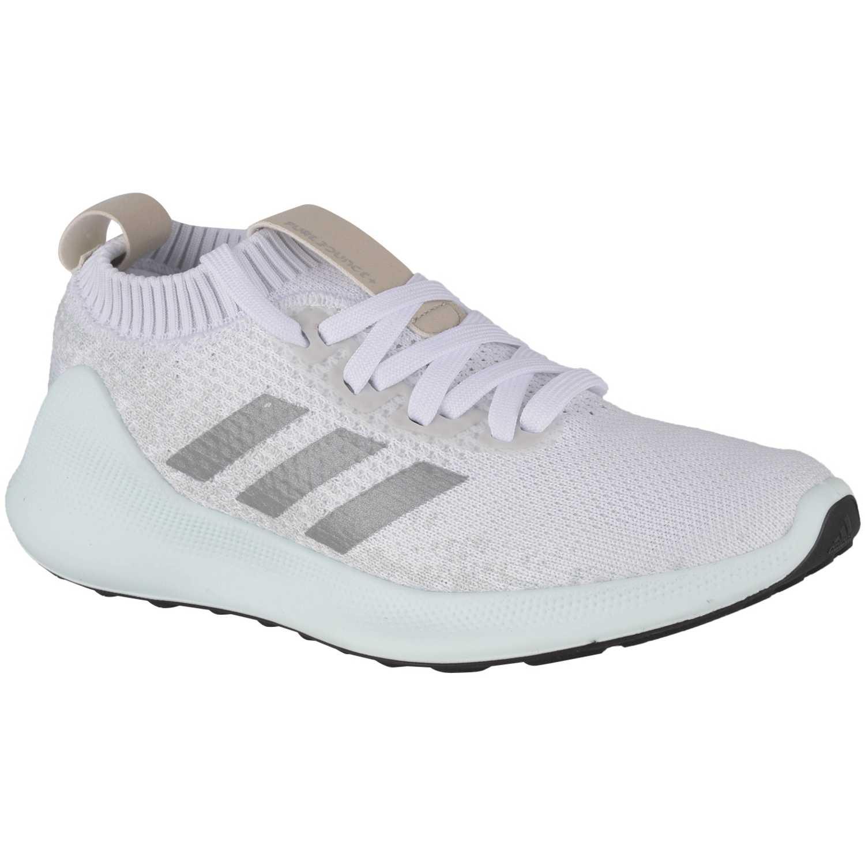 Adidas purebounce+ w Blanco Running en pista
