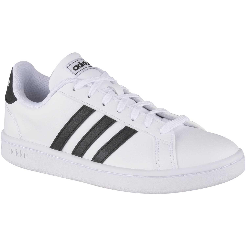 Adidas grand court Blanco Mujeres