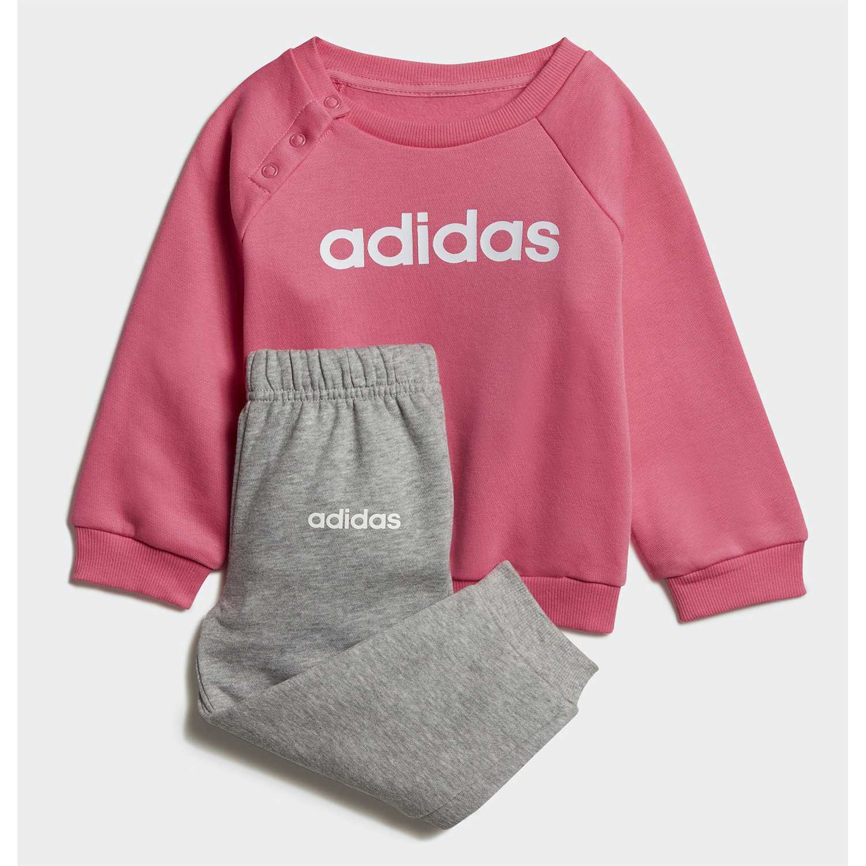 Adidas i lin jogg fl Rosado Sets Deportivos Tops y Bottoms