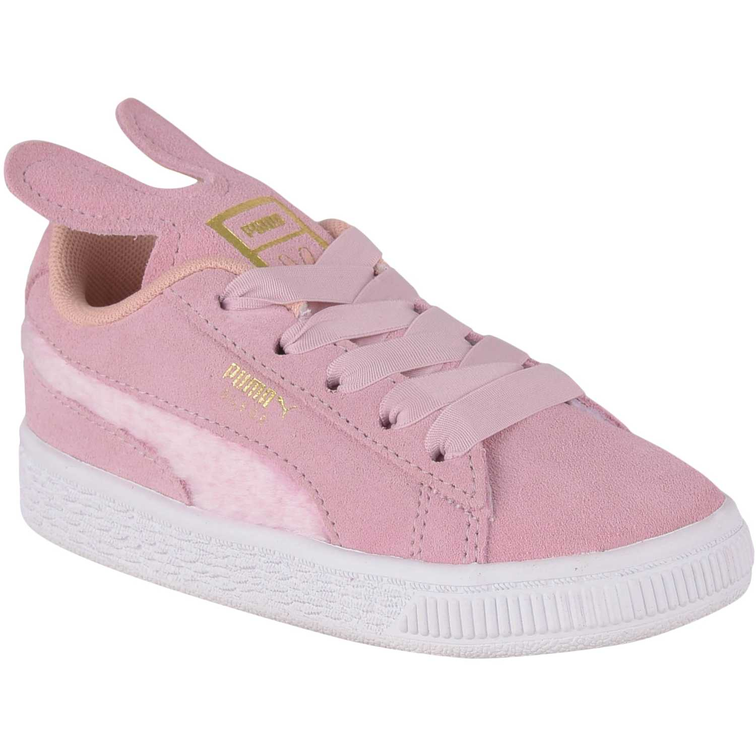 Puma suede easter ac inf Rosado / blanco Walking