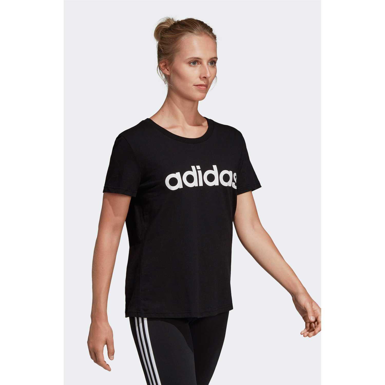 Adidas W E Lin Slim T Negro Polos