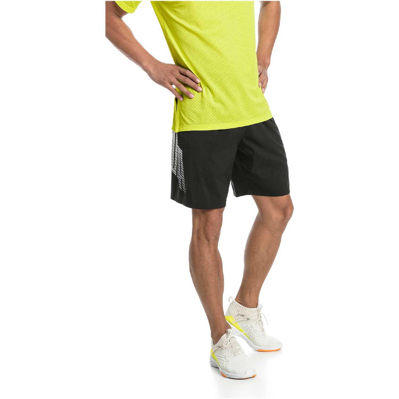 Puma a.c.e. woven 9 pulg short Negro Shorts Deportivos