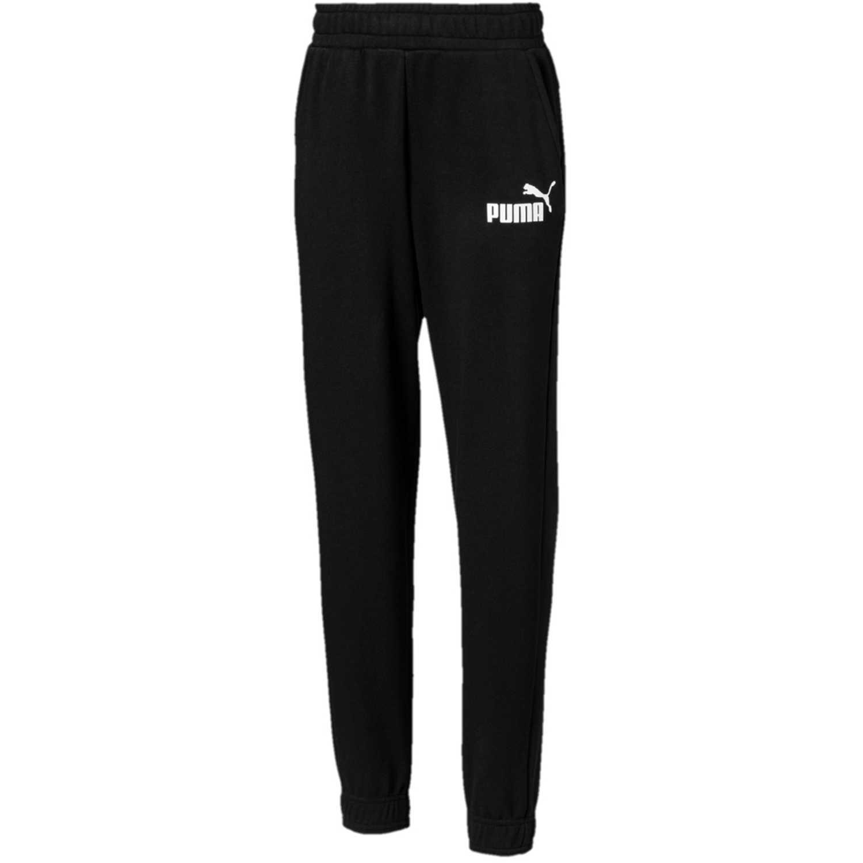 Puma ess logo sweat pants tr cl b Negro / blanco Pantalones