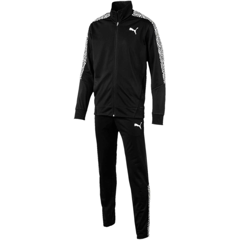 Deportivo de Mujer Puma Negro / blanco graphic tricot suit op