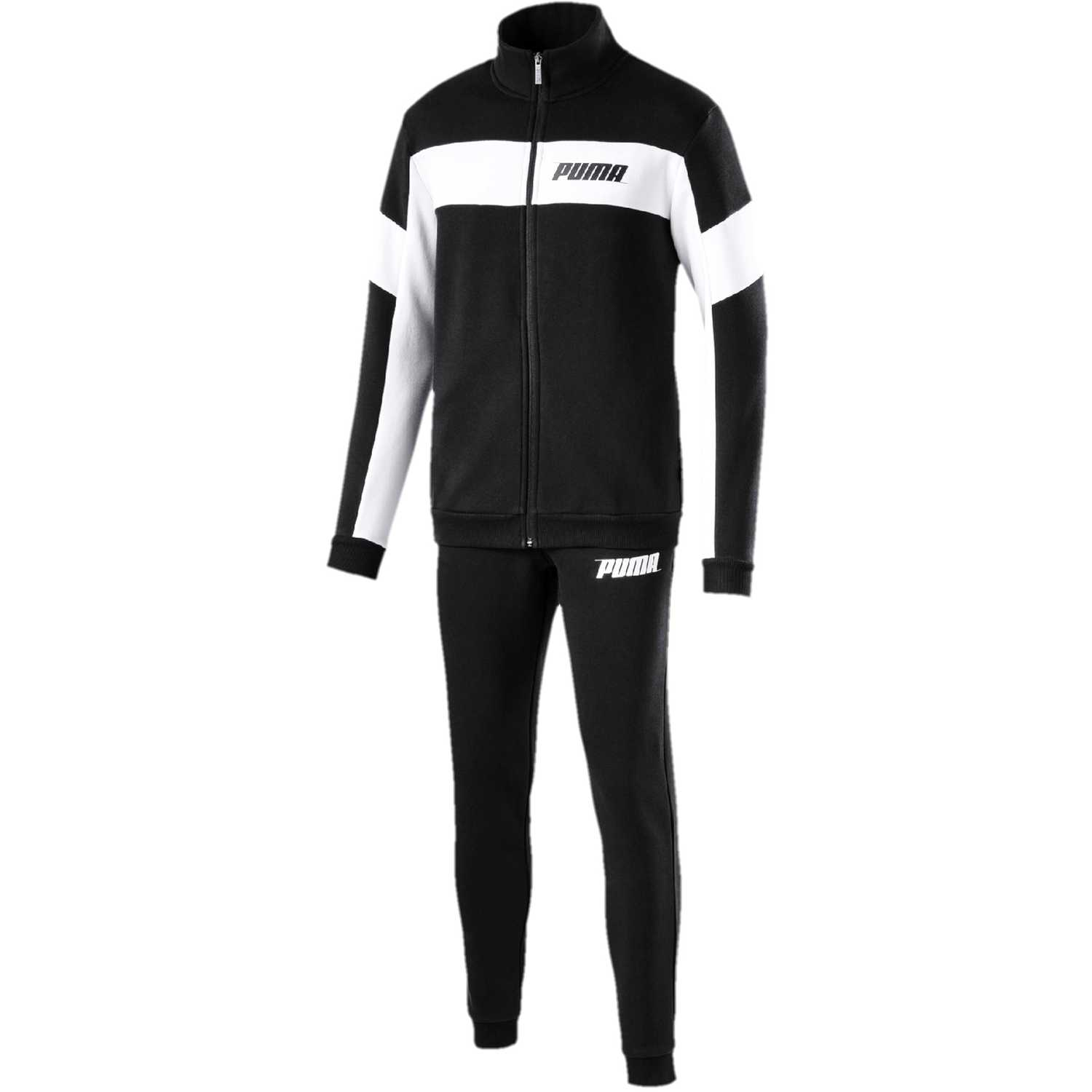 Puma rebel sweat suit cl Negro / blanco Buzos Deportivos