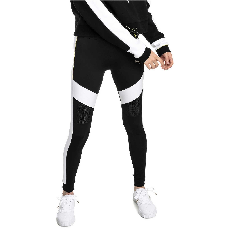 Puma chase legging Negro / blanco Leggings Deportivos
