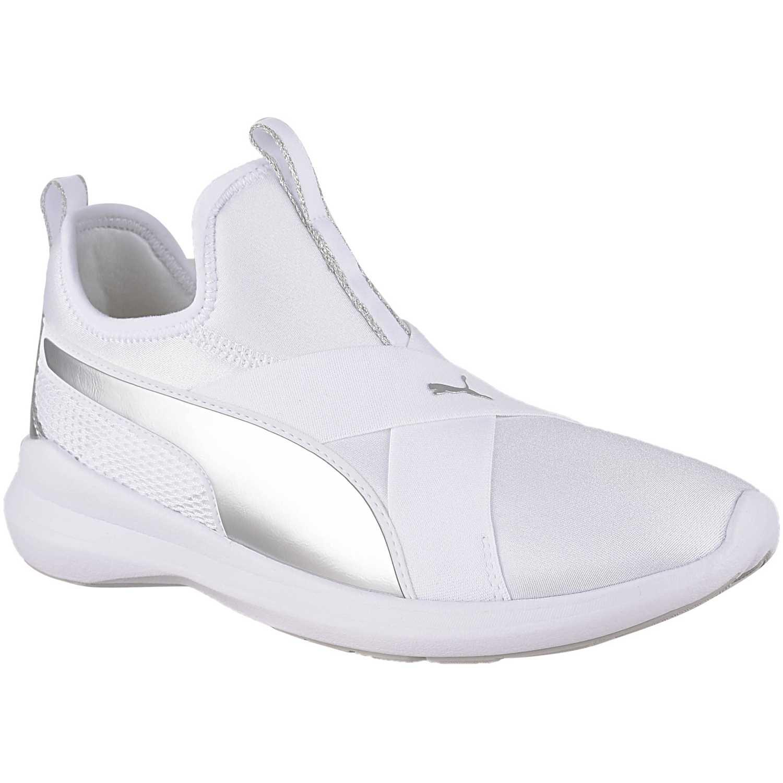 Casual de Mujer Puma Blanco / plateado puma rebel x trailblazer