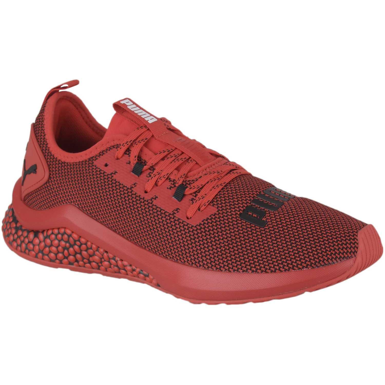 Puma Hybrid NX Rojo / negro Trail Running