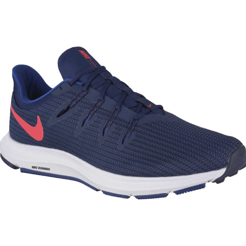 Nike nike quest Azul / blanco Trail Running